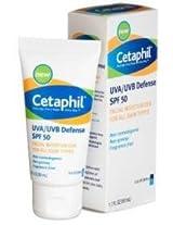 Cetaphil Cetaphil Uva/Uvb Defense Facial Moisturizer Spf 50