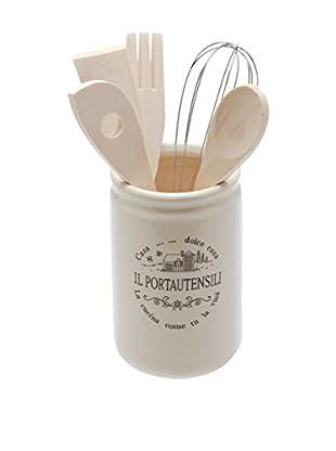 Tognana Behälter für Küchenhelfer 6 tlg. Set Dolce casa La Casa di Campagna