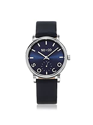 SO&CO Women's 5093L.2 Madison Navy Leather Watch