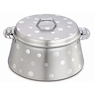 Maxima Decor Pyramid Shaped Hot Pot, 2.5 Litres