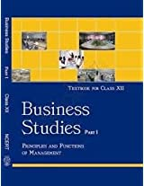 BUSINESS STUDIES PART I & II TEXTBOOK FOR CLASS XII (SET OF TWO BOOKS)