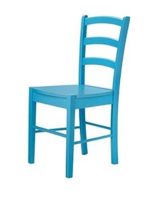 13Casa Set Silla 2 Uds. Kaos D16 Azul