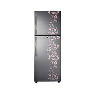 Samsung 321L 5 Star RT33FAJFALX/TL Double Door Refrigerator-Orcherry Peach Silver