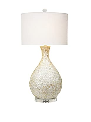 Couture La Pearla 1-Light Table Lamp, Natural Mother of Pearl