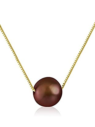 Compagnie générale des perles Collana Venetian Rosso Scuro