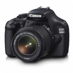 Combo of Canon EOS 1100D DSLR With Camera Lens Kit (18-55mm IS II )