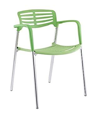 Modway Fleet Stacking Chair (Green)