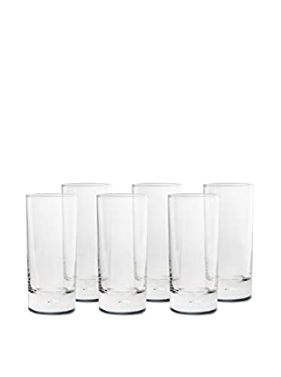 BergHOFF Set of 6 Casa Beer Glasses (Clear)
