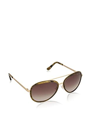 Tom Ford Sonnenbrille FT0468-41K58 (58 mm) goldfarben