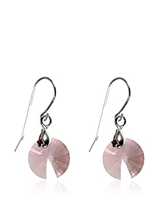 So Charm with Crystals from Swarovski Pendientes  Rosa