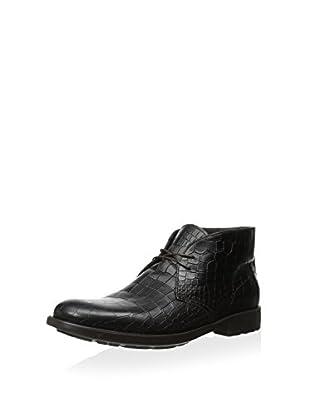 Dino Bigioni Men's Moc Croc Desert Boot (Brown)