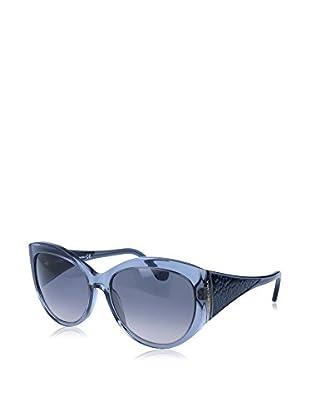 Balenciaga Sonnenbrille BA0023 16 140 90B (58 mm) himmelblau/grau
