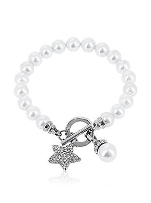 Rendez-Vous Armband Star silberfarben/perlmutt