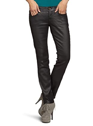TOM TAILOR Denim Skinny Hose (Schwarz)