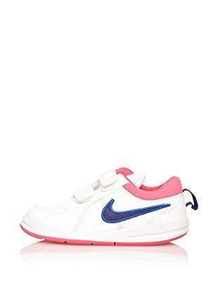 Nike Zapatillas Pico 4 (Tdv) (Blanco / Azul / Rosa)