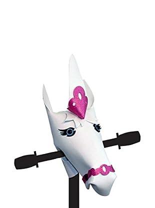 handlebar heroes Lenkeraufsatz Unicorn White Glitter weiß