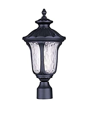 Crestwood Oakley 1-Light Post Head, Black