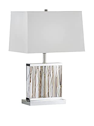Nova Lighting Pampa Accent Table Lamp, Silver