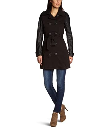 TOM TAILOR Denim Trenchcoat (Schwarz)