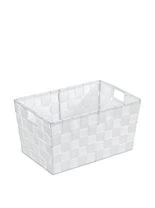 Wenko Aufbewahrungskorb 2er Set weiß