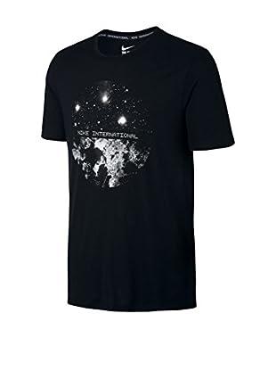 Nike T-Shirt Manica Corta Tee-Ru Satellite