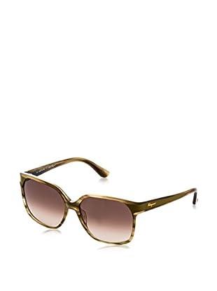 Ferragamo Sonnenbrille 622SL_319 (58 mm) braun