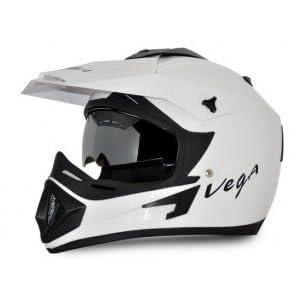 VEGA Off-road Helmet White