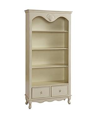 Coast to Coast 2-Drawer Bookcase, Ivory