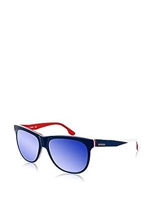 Diesel Sonnenbrille DL0112-92C (56 mm) marine/weiß