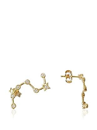 Silver One Ohrringe  vergoldetes Silber 925