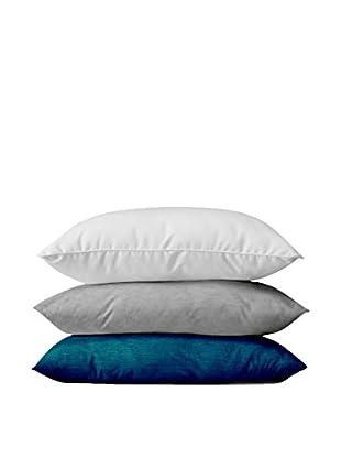 13 Casa Kissen 3er Set Art.1Cus1007 blau/weiß/grau