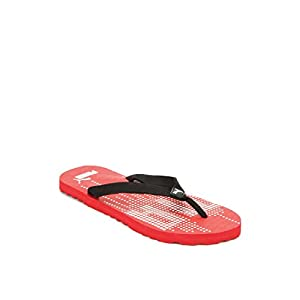 Puma Unisex Animatrix Red Flip Flops Thong Sandals - 10 UK