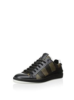 Fendi Men's Sneaker With Stripes