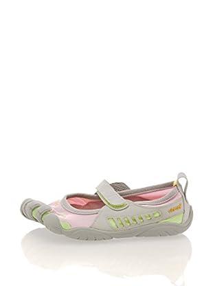 Vibram Fivefingers Zapatillas G1135 Sprint Kids (Rosa / Gris / Verde)