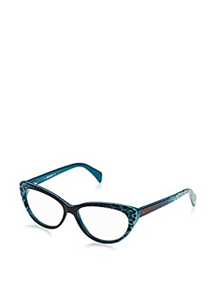 Just Cavalli Montura Jc0601 (53 mm) Turquesa / Negro