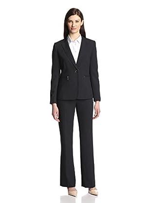Tahari by ASL Women's Pinstripe Pant Suit