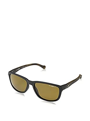 Arnette Gafas de Sol Polarized Straight Cut (58 mm) Negro