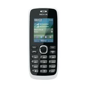 Nokia 112 Mobile Phone-White