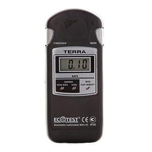 ECOTEST ガイガーカウンター 放射能測定機 TERRA (MKS-05)