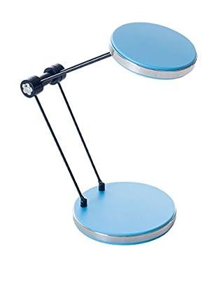 LED Foldable Desk Lamp with USB, Blue