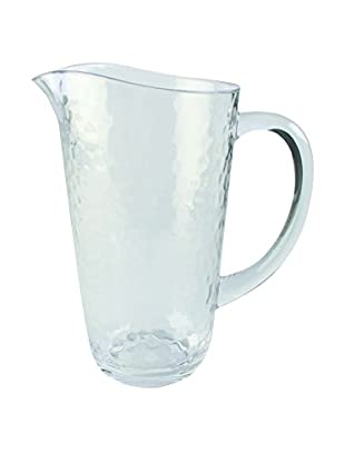 Pebbled Acrylic Pitcher, Clear