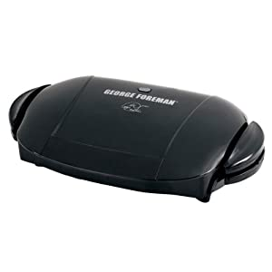 George Foreman The Next Grilleration Grill, Black
