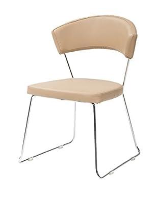 TUONI Stuhl 4er Set Bacco beige