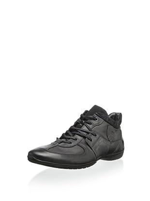 Bacco Bucci Men's Escudo Fashion Sneaker (Black)