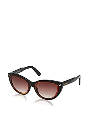 D Squared Sonnenbrille DQ017053 (53 mm) schwarz/braun