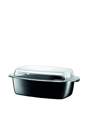 Silit 5.5-Qt. Roasting Pan With Lid, Black