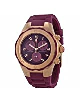 Michele Tahitian Jelly Bean Merlot Ladies Watch Mww12F000086