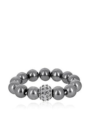 Pearly Armband Pauline grau/transparent