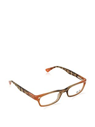 Ray-Ban Gestell 5150 548748 (48 mm) braun/orange
