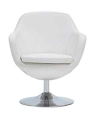 Ceets Caisson Leisure Chair, White